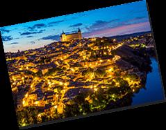 スペイン トレド夜景