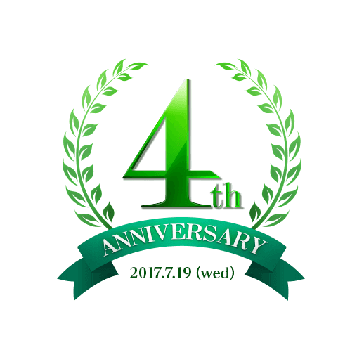 4th Anniversary 2017.7.19(Wed)