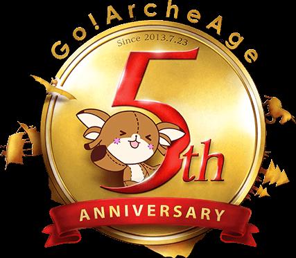 Go!ArcheAge 5thAnniversary