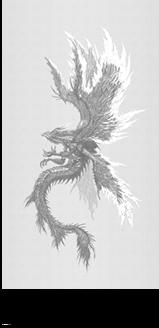 旧大陸の雷神伝説で伝わる「雷神リーウー」の想像図。