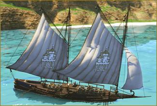 図面:貿易船