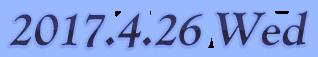 2017.04.26 WED