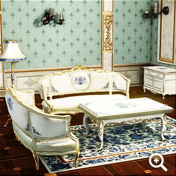 純白のユリ色 リビング家具