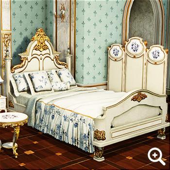 純白のユリ色 寝具