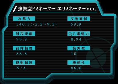 強襲型ドミネーター エリミネーターVer.