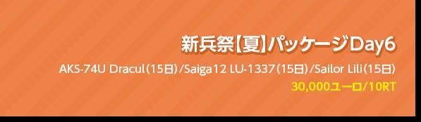 新兵祭【夏】パッケージ Day6