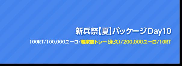 新兵祭【夏】パッケージ Day10