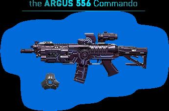 the ARGUS 556 Commando