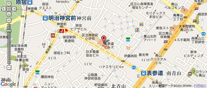 AVAれ祭2010開場 周辺地図