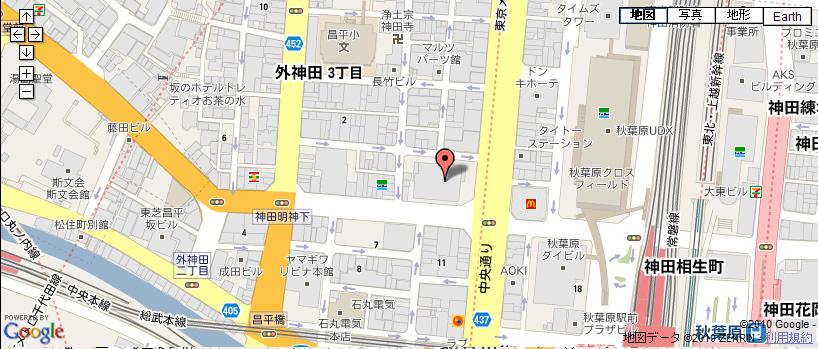 AVAれ祭2010~秋葉原・冬の陣~開場 周辺地図