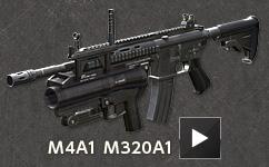 M4A1 M320A1