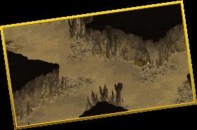 魔獣たちのエサ場のズーム画像