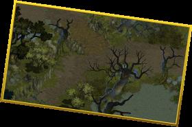 静寂の沼のズーム画像