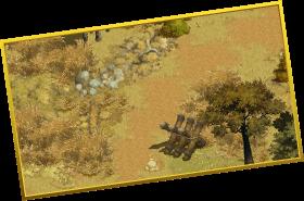 見捨てられた国境のズーム画像